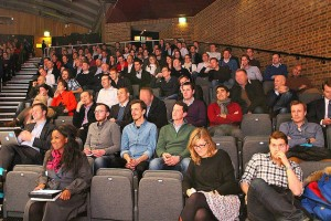 The audience for Eric Ries