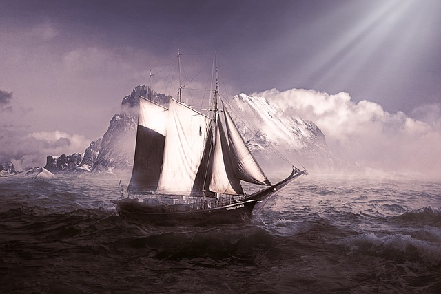Ship and iceberg image - click to article on controlling the audience!